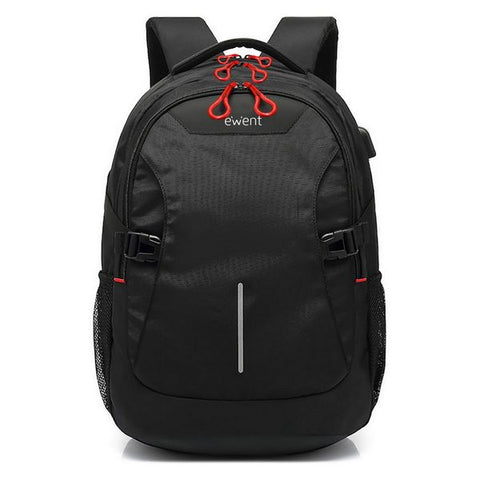 Rucksack for Laptop and Tablet with USB Output Ewent EW2526 15,6