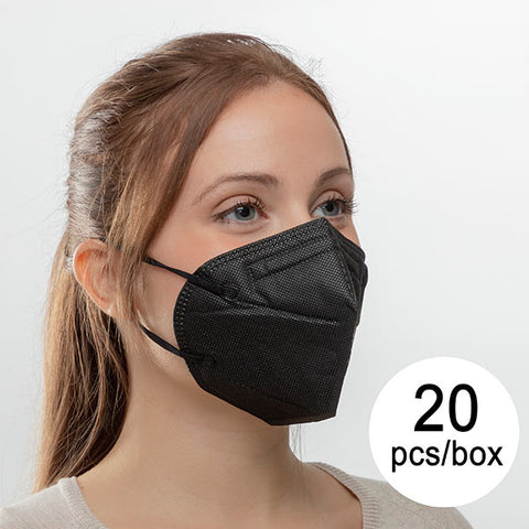Protective Respirator Mask FFP2 NR ML (Pack of 20)