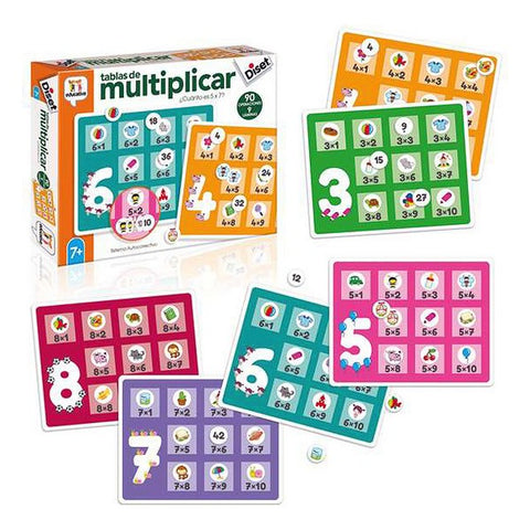 Educational Game Multiplicar Diset
