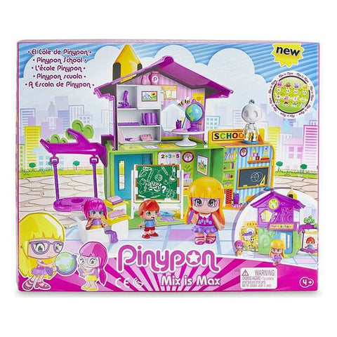 Playset Pinypon Famosa Mix is Max School (Refurbished A+)