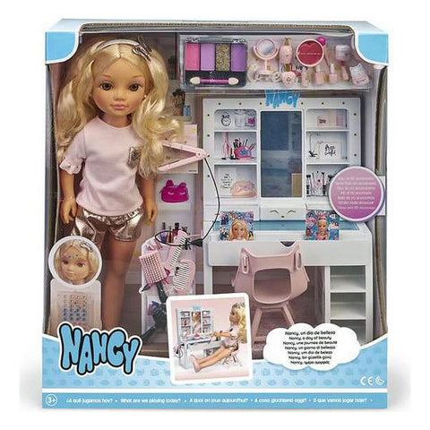 Playset Nancy A Day Of Beauty Famosa (43 cm)