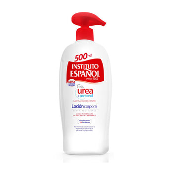 Body Lotion Urea 5% Pantenol Instituto Español (500 ml)