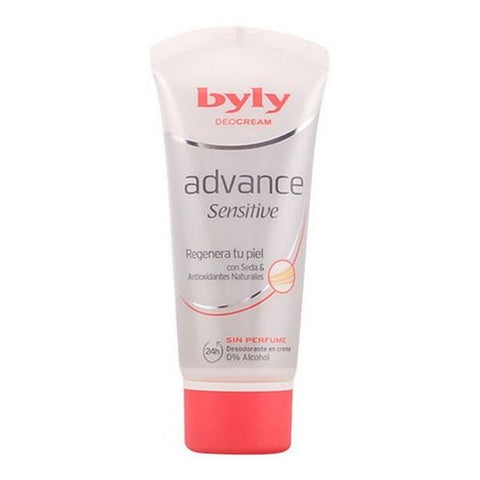 Cream Deodorant Advance Sensitive Byly