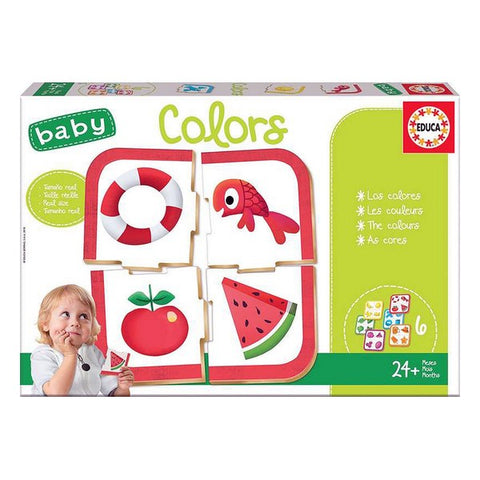 Board game Baby Colors Educa