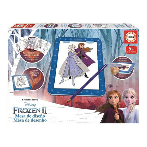 Paint and Colour Game Frozen 2 Educa