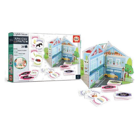Board game English House Educa