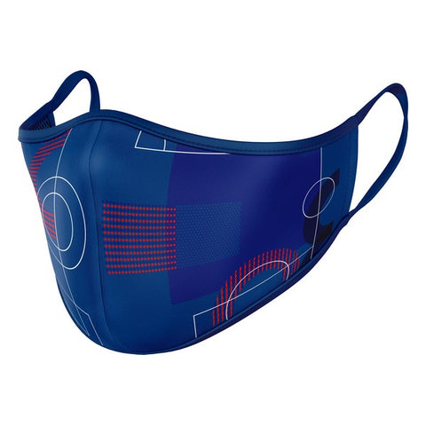 Hygienic Reusable Fabric Mask F.C. Barcelona Adult Blue
