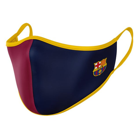 Hygienic Reusable Fabric Mask F.C. Barcelona Children's