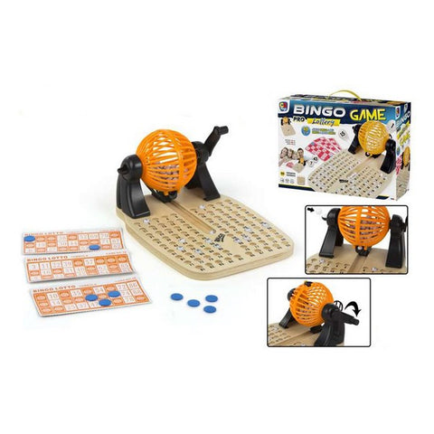 Bingo CB Games Wood