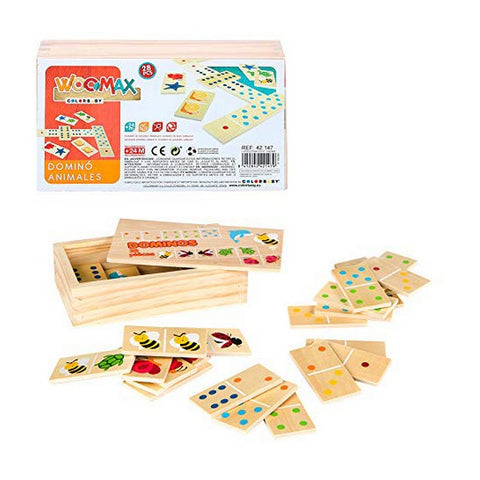 Domino 28 pcs Wood