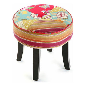 Stool Patchwork  Cotton (35 X 35 x 35 cm)