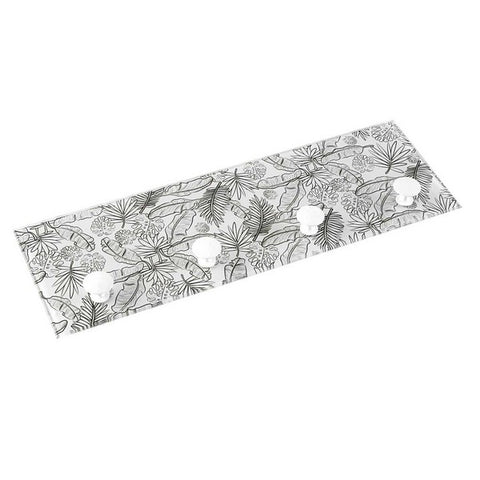 Coat rack Crystal (3 x 12 x 36 cm) Sheets