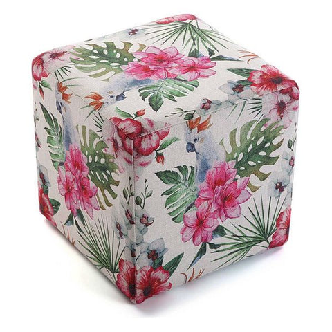 Stool Flores Polyester (35 x 35 x 35 cm)