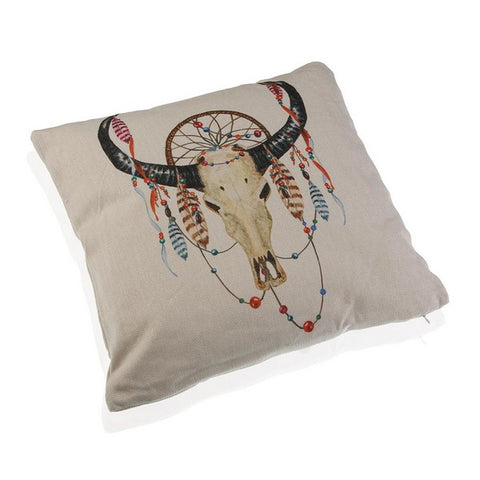 Cushion 100 % polyester (15 x 45 x 45 cm) Goat