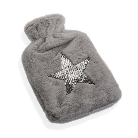 Hot Water Bottle Silver Star 2 l