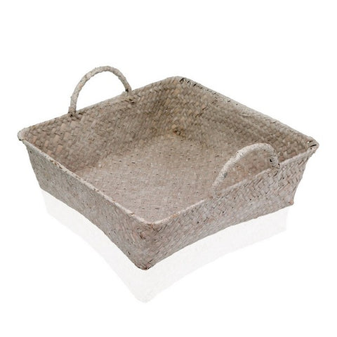 Multi-purpose basket Marine algae (28 x 8 x 28 cm)
