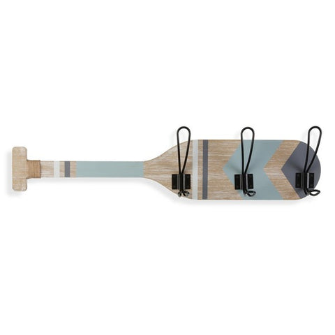 Wall mounted coat hanger MDF Wood (7 x 12 x 60 cm)
