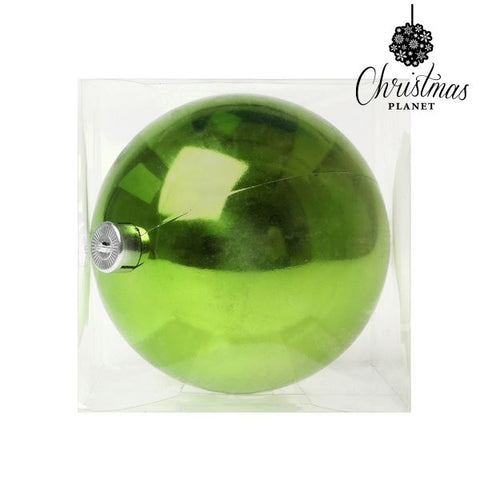 Christmas Bauble Christmas Planet 5221 15 cm Plastic Green