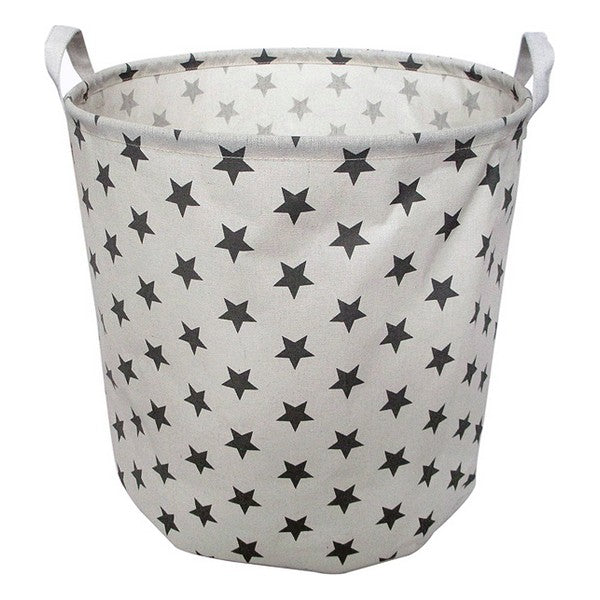 Laundry basket Stars White 111058