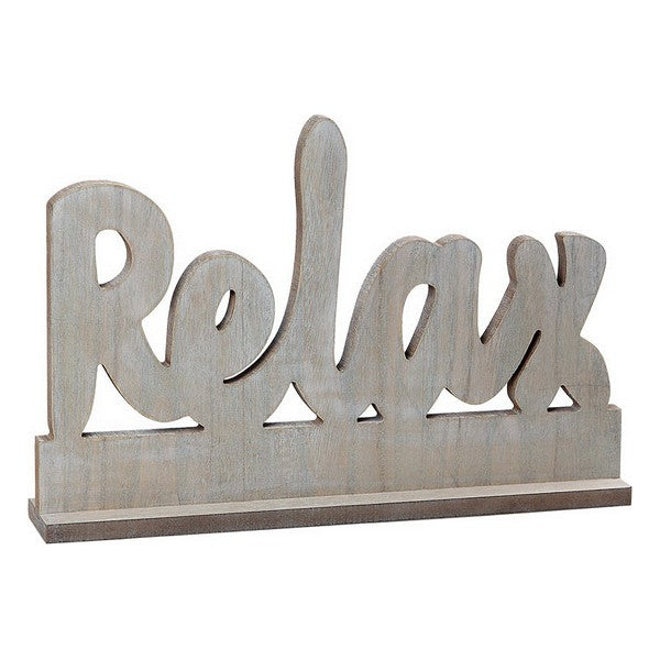 Wooden Sign Relax 112024