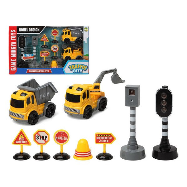Vehicle Playset Traffic City (9 pcs) 112857