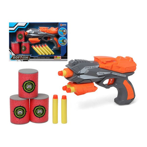 Dart Gun Soft Grey Orange 112956