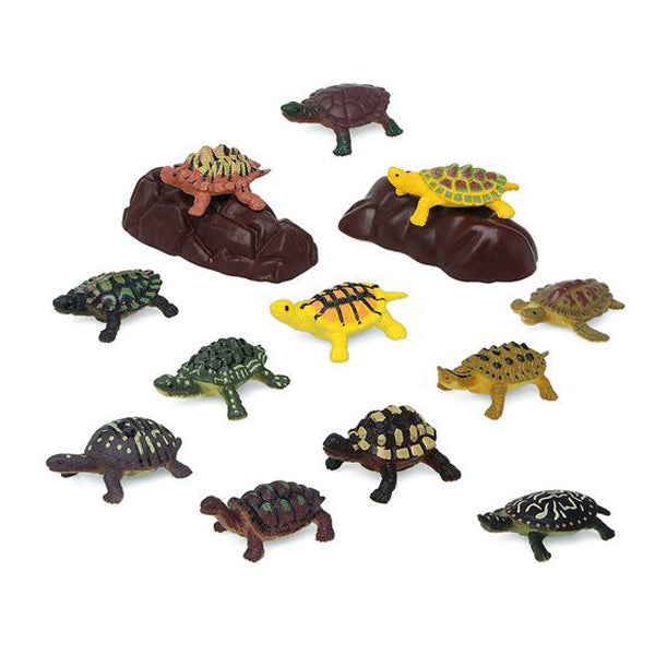 Set of Wild Animals 110203 Tortoise (14 Pcs)