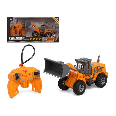 Remote-Controlled Vehicle Digger Yellow 112146