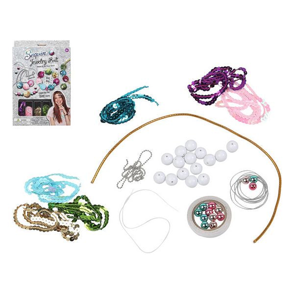 Craft Set Sequin Jewelry 117172