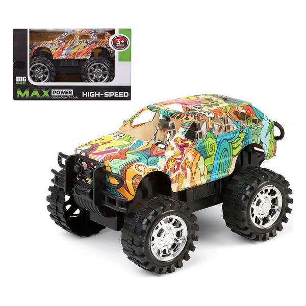 Car 4x4 Big Wheel 119862