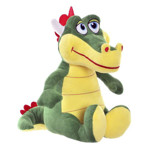 Fluffy toy Dekodonia Dragon Polyester (28 x 33 x 38 cm)