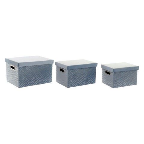 Decorative box Dekodonia Rhombus (3 pcs)