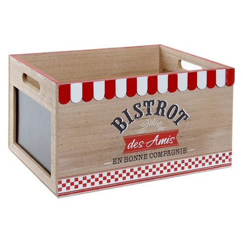 Decorative box Dekodonia MDF Wood Cottage (35 x 25 x 20 cm)