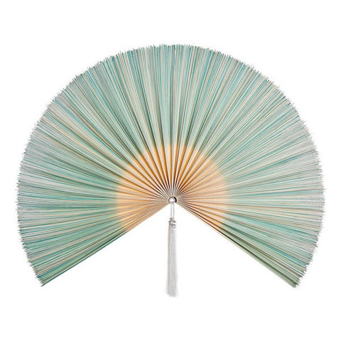 Wall Decoration DKD Home Decor Bamboo Oriental Fan
