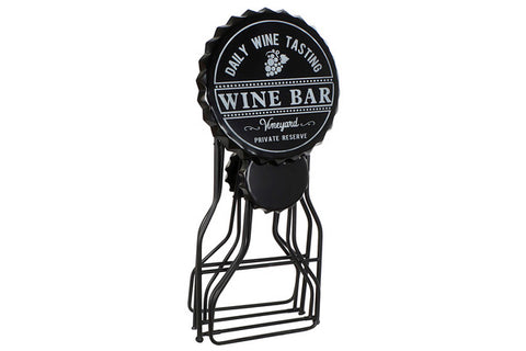 Table set with 2 chairs Dekodonia Wine Bar Metal (3 pcs)