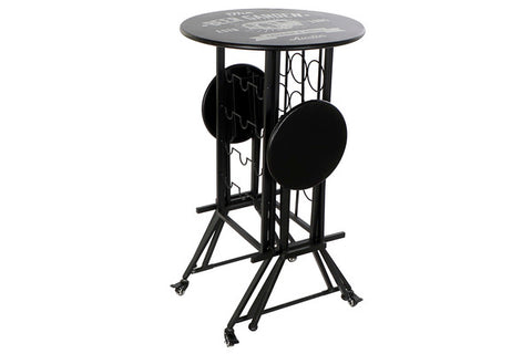 Table set with 2 chairs Dekodonia Beer Garden Metal (3 pcs)