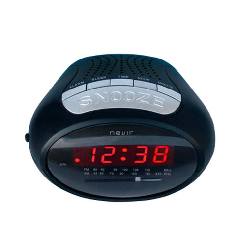 Clock-Radio NEVIR NVR-327 Black