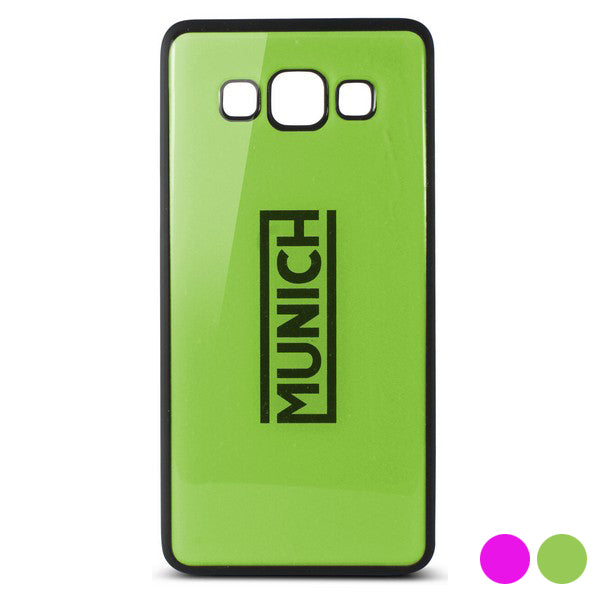 Mobile cover Samsung Galaxy A3 Munich Fluor Line