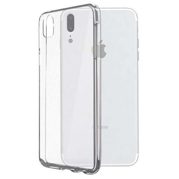Mobile cover Iphone X KSIX Flex Transparent