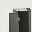 Mobile Cover Case Huawei P Smart Contact Slim Black Textile Polycarbonate