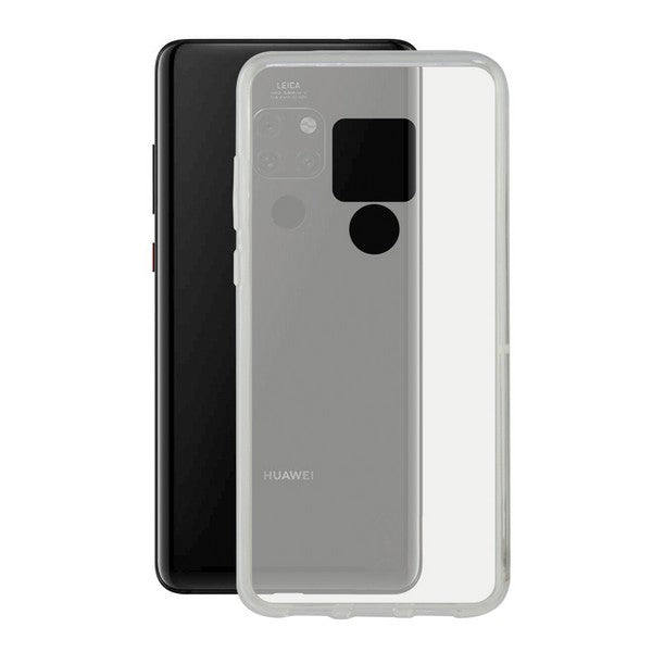 Mobile cover Huawei Mate 20 KSIX Flex Transparent