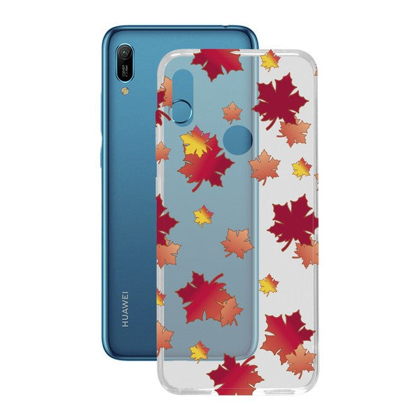 Mobile cover Huawei Y6 2019 Contact Flex Autumn TPU