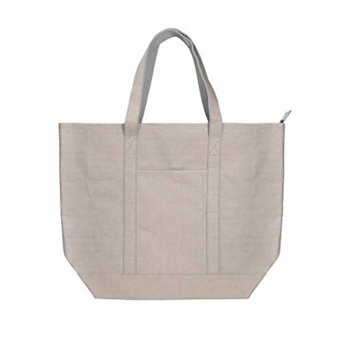 Shopping Bag KSIX kraft paper Polyester Grey