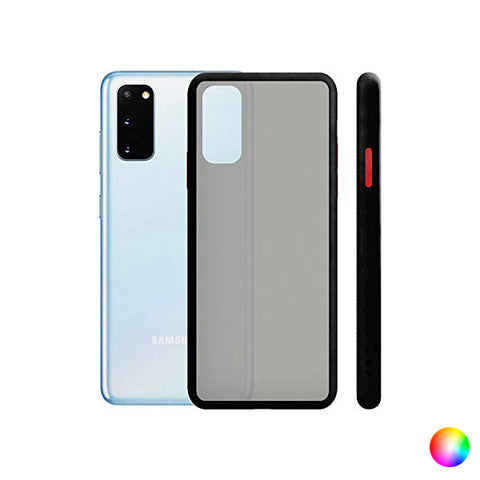 Mobile cover Samsung Galaxy S20+ KSIX Duo Soft