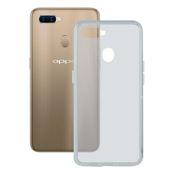 Mobile cover Oppo A7 KSIX Flex TPU