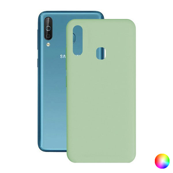 Mobile cover Samsung Galaxy A40s Contact Silk TPU