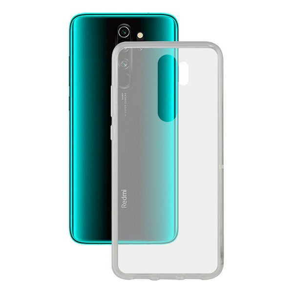 Mobile cover Xiaomi Redmi Note 8 Pro KSIX Flex TPU Transparent