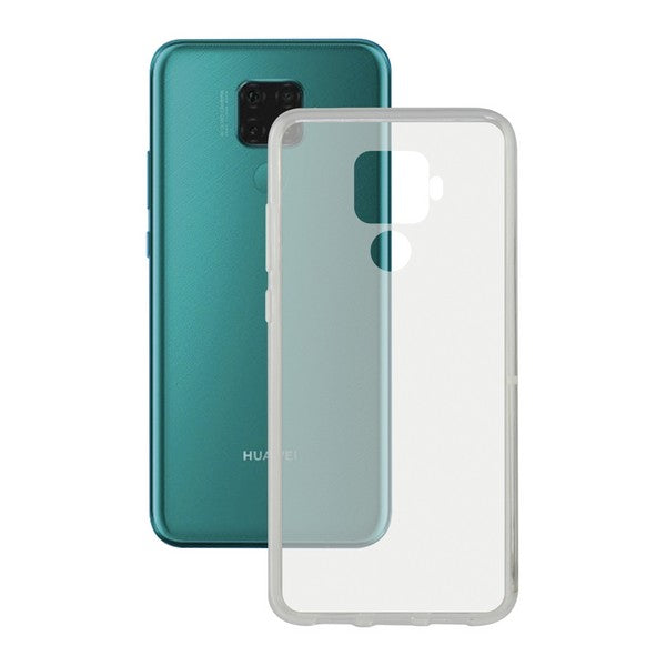 Mobile cover Huawei Mate 30 KSIX Flex Transparent
