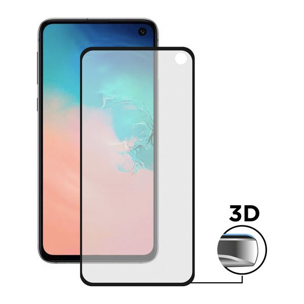 Tempered Glass Screen Protector Samsung Galaxy S10 KSIX Extreme Curved 3D Curved