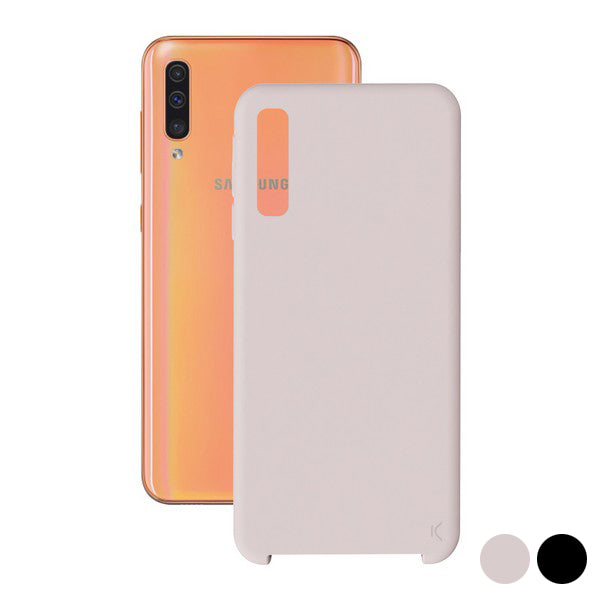 Mobile cover Samsung Galaxy A70 KSIX Soft